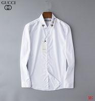 camisa de cuello mandarín para hombre al por mayor-Camisa de moda para hombre Camisa casual de manga larga de color sólido 2019 Camisa nueva de invierno Cuello mandarín delgado Sobre la camisa de adolescente
