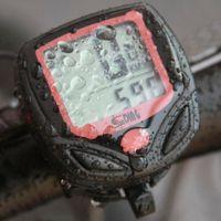 bisiklet bilgisayar kilometre sayacı toptan satış-Elektrikli Bisiklet Bisiklet Bilgisayar Su Geçirmez LCD Dijital Su Geçirmez Kilometre Sayacı Velometer