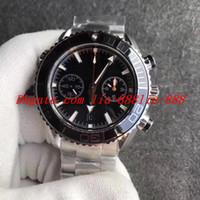 ingrosso migliore orologio automatico del cronografo-Best Edition OM 45.5mm Planet 600 M 232.30.46.51.01.003 904L Acciaio CAL.9900 Movimento Cronografo Automatico Orologi da uomo