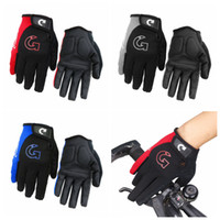 Wholesale padded cycling shorts online - Cycling Bike Bicycle Motorcycle Shockproof Foam Padded Outdoor Sports Half Finger Short Riding Biking Glove Working Gloves LJJZ108