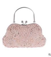 bride bag achat en gros de-Femmes chaîne de portefeuille femmes sacs d'embrayage perles sac de soirée sac de jour embrayages sac à main mariée fête sac à main Lady mariage sac à main vintage # 529435