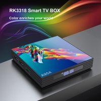 suporte do youtube venda por atacado-A95X R3 Android 9.0 TV Box 2GB 16GB Rockchip RK3318 TV Box Suporte Youtube HD 4K USB3.0 Smart Box TV