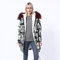 меховая куртка оптовых-2018 new women's long section Parker coat jacket stars with the same paragraph  scorpion fur grass liner NV079