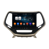 Wholesale hd radio tuner for car resale online - HD inch Core PX5 Android G Car DVD Radio Head Unit for Jeep Cherokee