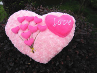Wholesale big stuff toys valentines resale online - new Valentine gift hold pillow plush toys soft stuffed pillow I LOVE YOU Valentine s day and retails birthday gift