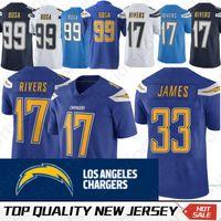 d03b79ef6 Los Angeles 33 Derwin James Chargers Jersey 99 Joey Bosa 17 Philip Rivers  13 Keenan Allen Football Jerseys Free Shipping