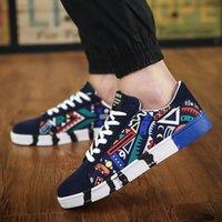 gündelik ayakkabılar koreası toptan satış-2019 rahat ayakkabı erkekler Erkek Sonbahar Yeni Düşük Kayma Sneakers Kore Moda Kış Açık Casual Erkek Ayakkabı Casual Ayakkabı Yeni Düşük Slip, Güz