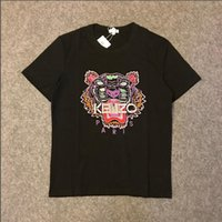 Wholesale quick photo resale online - 2019 hot Real Photo High Quality Mens Men or Womens Women Unisex LogoK39 kenzo Embroidery luxury Shirts T shirt Top Tee SIZE S XL