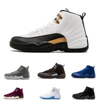 Wholesale tables games online - Designer s mens basketball shoes sneakers OVO White Gym Red Dark Grey women Basketball Shoes Taxi Blue Suede Flu Game CNY