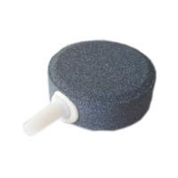 ingrosso acquario bolle-5pcs / 40mm Air Bubble Stone Aeratore Pond Pump 4 cm Dia Air Pietra Bubble Disk acquario pompa d'aria Idroponica Ossigeno Piastra Grande