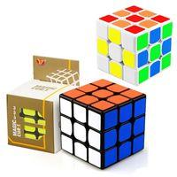 jouets éducatifs pour adultes achat en gros de-Cube magique professionnel vitesse Puzzle Cube Twist jouets 3x3 classique Puzzle Magic Toys adultes et enfants jouets éducatifs