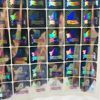 venda da fábrica do logotipo venda por atacado-Personalizado laser de segurança colorida anti-falsificação de impressão de etiquetas de holograma fábrica de vendas diretamente logotipo holográfico etiqueta da etiqueta adesiva