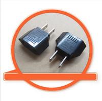 Wholesale male ac plug resale online - 2PCS Consumer Electronics Travel Adapter Converter US USA Male Wall AC Power Plug