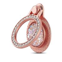 кольцо с бриллиантами оптовых-Finger Ring Держатель для телефона Bling Diamond Смартфон Stander Для iPhone Samsung Универсальный Стенты для мобильного телефона Mount