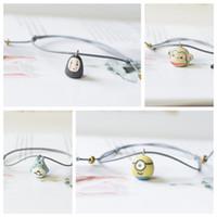 Wholesale panda bracelets for sale - Group buy Lovely Cartoon Animals Bear Panda Ceramic Charm Bracelet Korean Creative Handwork national style students Bracelet Fashion Ornament Jewelry