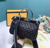 shouler handtaschen groihandel-Designer Crochet Modell Handtasche Uni Dessin-Handtaschen arbeiten Dame Shouler Beutel-Qualitäts-Senior Design Feels Frauen Kreuz-Schulter-Beutel / 2