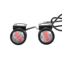 Wholesale 12v dc strobe lights for sale - Group buy 10X DC V W Motorcycle Strobe Signal Light DRL Daytime Running Light Flashing Lamp ts Backup Lights mm DRL Lamp Parking Signal LED Light