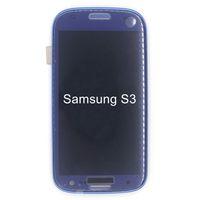 galaxy s lcd assembly toptan satış-Samsung Galaxy S3 Dokunmatik Ekran Sayısallaştırıcı Meclisi Yedek Ekran İçin Yüksek Kaliteli 4.8 INCH LCD Ekran i9300 i9305 i535 T999 i747