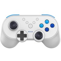 мини-контроллер bluetooth оптовых-ABS Mini Controller NFC Function Asymmetric Button Ergonomic Design Wireless Gaming Pad Bluetooth USB For  Switch