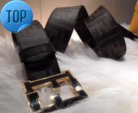 ingrosso produzione di cinture di cuoio-F BELT Vera pelle include la scatola del numero di serie. Fibbia Big Reversibile Marrone Reversibile Marrone Cintura F Made in Italy