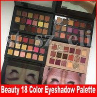 neue markenkosmetik großhandel-Brand Beauty Desert Dusk Lidschatten-Palette Make-up 18 Farben New Nude Shimmer Matte Lidschatten Kosmetik Rose Gold Textur Remastered Palette