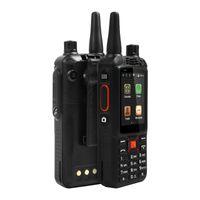 ağ video telefonu toptan satış-Orijinal yükseltme F22 + / F22 Artı Android Akıllı açık Sağlam Telefon Walkie Talkie Zello PTT 3G Ağ interkom Radyo Gelişmiş DHL Ücretsiz