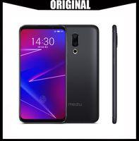 meizu 4g toptan satış-Orijinal Meizu 16X4G LTE 6 GB RAM 64 GB ROM Cep Telefonu Snapdragon 710 Octa Çekirdek 6.0