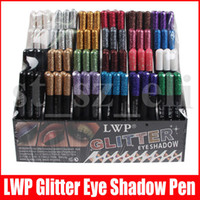 маркерные карандаши оптовых-144pcs / набор Eye Shadow Liner Карандаш Комбинированный Блеск Eyeshadow Карандаш подводка Highlighter 24 Colors Eye Make Up Set