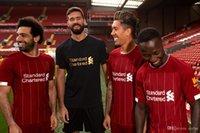 fútbol alto al por mayor-De alta calidad de los hombres de color rojo formación transpirable etto manga corta camiseta de fútbol uniforme de fútbol camiseta