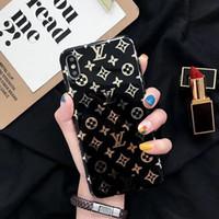 handytaschen für iphone großhandel-Ein stück mode luxus designer telefon fällen für iphone xsmax xr xs x 8 8 plus 7 7 plus 6 s 6 plus 6 rückseitige abdeckung handy fall