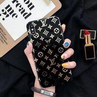 tampa de uma peça venda por atacado-One piece moda designer de luxo casos de telefone para iphone xsmax xr xs x 8 8 plus 7 7 mais 6 s 6 splus 6 tampa traseira do telefone móvel case