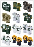 camisas de rugby personalizadas venda por atacado-2019 personalizado qualquer número numa melhor camisa de Rugby Desgaste Green Bay 97 Kenny Clark Packer homens / MULHER / JUVENTUDE Rugby Jerseys s-xxxxl