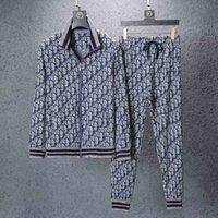 ter kaplanları erkekler toptan satış-19 Tasarımcı Eşofman Erkekler Lüks Ter Takım Elbise Sonbahar Marka Erkek kaplan Eşofman Jogging Yapan Takım Elbise Ceket + Pantolon Setleri eğlence kadın Spor Takım Elbise