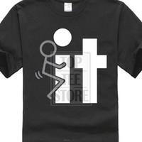 ingrosso direzioni di progettazione-Short Design T Shirt Fck It Offensive Rude Mens Novità Gag Gift Detti molto divertenti vestiti T Shirt
