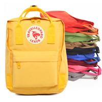 çocuk sırt çantaları toptan satış-Tasarımcı Sırt Çantası Su Geçirmez Lüks Ünlü Sırt Çantası Öğrencilerin Okul Çantası Çocuklar için Klasik Mini Mochila Sırt Çantaları Seyahat Çantaları