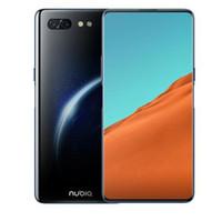 zte x großhandel-ZTE Nubia X Handy 8 GB / 128 GB Snapdragon 845 Octa Core 6,26 + 5,1 '' Dual Screen 16 + 24MP Kamera 3800 mAh Fingerabdruck-Telefon