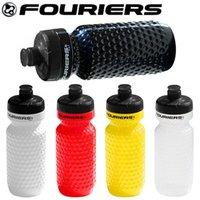 botella de agua mtb al por mayor-FOURIERS MTB kettle botellas de agua de plástico deportes ciclismo golf bicicleta de carretera bicicleta botella de agua de 600 cc equipos accesorios de bicicletas
