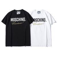 impresión de gran tamaño al por mayor-2019 Nuevo Diseñador de Camisetas de Verano Para Hombre Diseñador de las mujeres T Shirts Marca de moda para mujer para hombre de manga corta de gran tamaño de impresión camisetas S-2XL