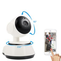 Wholesale camera panoramic view for sale - 1080P Panoramic View Shaking Head Monitor Camera Home Security Surveillance WiFi Connection Way Audio for Household Company Warehouse