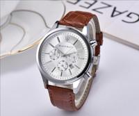 ingrosso uomini orologi usa-Stati Uniti Italia Marca Fashion maserati Casual Leather Watch VOLARE Donna uomo 42 millimetri affari orologio da polso al quarzo