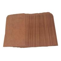 umschlag stil taschen großhandel-50pcs Retro Art-Kraftpapier schlägt Postkarten-Einladungs-Buchstabe-Briefpapier-Papiertüte-Weinlese-Luftpost-Geschenk-Umschlag Brown ein