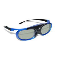 3d dlp link glasses venda por atacado-4 pcs Ativo Obturador Recarregável 3d Dlp Óculos Suporte 144 hz Para Xgimi Z3 / z4 / z6 / h1 / h2 Porcas G1 / p2 Benq Acer DLP Link Projetor J190506