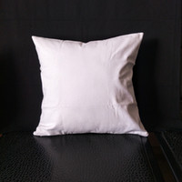Wholesale canvas print prices for sale - Group buy 100pcs Any Size blank white natural semi white oz pure cotton canvas cushion cover for DIY paint print directly from factory low price