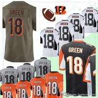 Wholesale free football uniforms for sale - Group buy Cincinnati jerseys Bengal A J Green High quality men s American Football Jersey free of freight top quality uniform