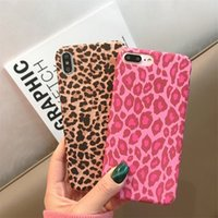 Wholesale hard case printing for sale - Group buy 2019 Fashion Leopard Print IMD Phone Case For iPhone X XR XS MAX Luxury Hard Back Case For iPhone Plus