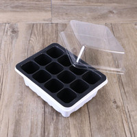 Wholesale packs flower seeds resale online - 10 Pack Seedling Tray Seed Starter Tray with Dome and Base Cells for Gardening Bonsai White