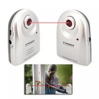 Wholesale wireless window alarm sensors resale online - Electronic Infrared Sensor Alarm Home Door Window Alarm Access Doorbell Anti Theft Welcome Sensor