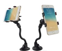 Wholesale dashboard car mount holder for iphone for sale – best Car Mount Long Arm Universal Windshield Dashboard Cell Phone Car Holder with Strong Suction Cup and X Clamp for iPhone s