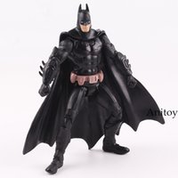 Wholesale marvel batman figures resale online - Boys Favourite Toys Batman Action Figure Joint Moveable Various Pose Marvel Super Heroes Avengers Figure Kids Toy quot CM