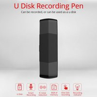 Wholesale otg plug online – Mini Recorder Portable Voice Recorder HD Digital USB Micro USB GB Recording U Disk OTG For Android Dual Plug MP3 Recorders